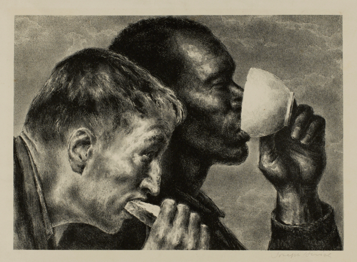 Banquet by Joseph Hirsch